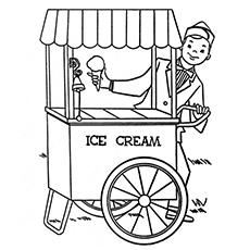 O caminhão de sorvete