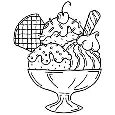 O sorvete