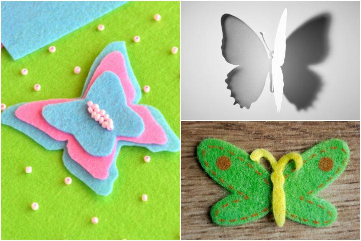 21 divertidos artesanatos de borboleta para pré-escolares