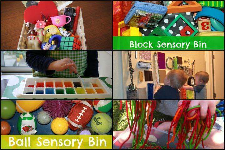 Atividades sensoriais para bebês