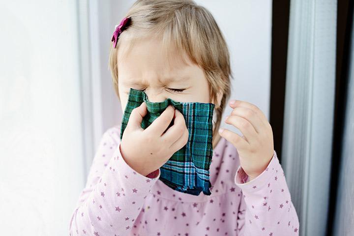 Febre do feno em crianças pequenas