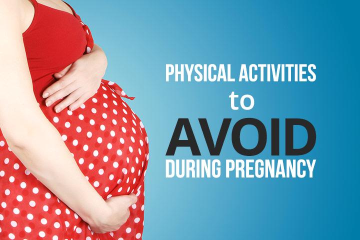 13 atividades físicas para evitar durante a gravidez