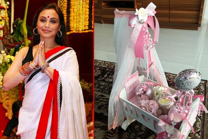 Adivinha o que Rani Mukerji e Aditya Chopra deram a seus amigos três meses após o nascimento de Adira