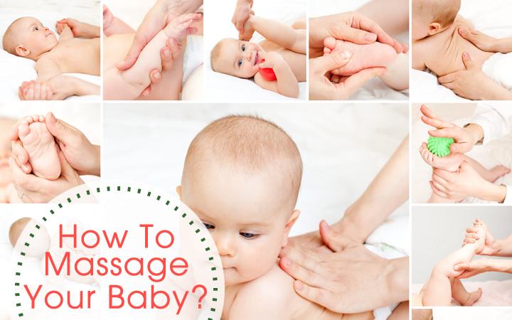 Como massagear seu bebê