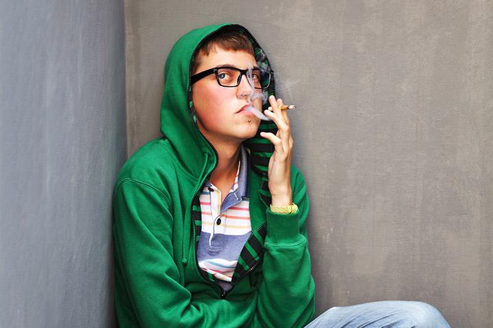 Imagens de câncer de pulmão em adolescentes