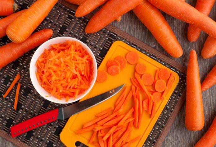 Cenoura picada