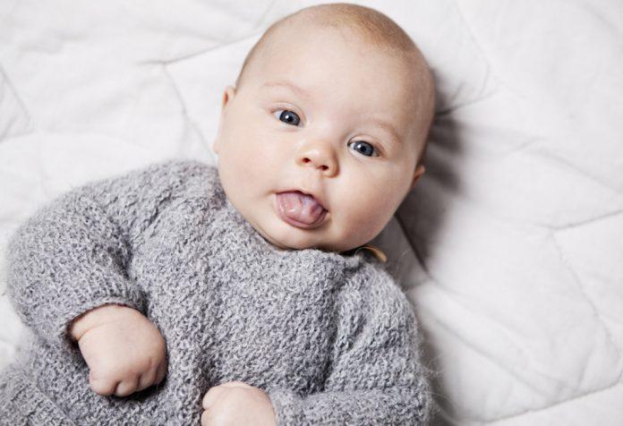 Língua do bebê