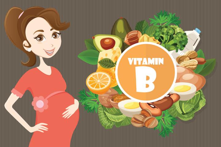 Complexo de vitamina B durante a gravidez