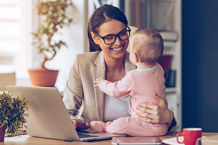 Destruindo 7 mitos principais sobre mães que trabalham