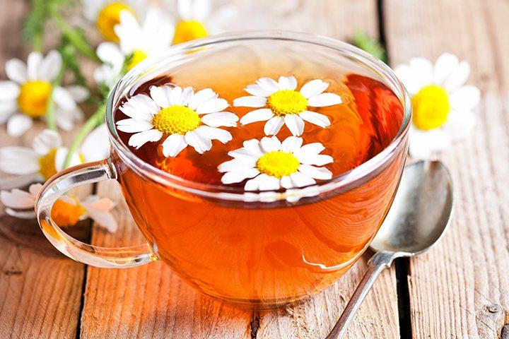 Chá de camomila durante a gravidez