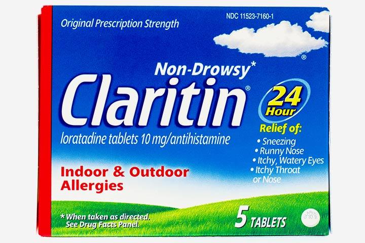 É seguro tomar Claritin (Loratadine) durante a amamentação?