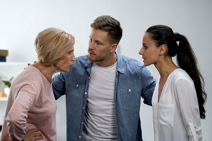 Problemas em se dar bem com sua sogra Há uma razão para