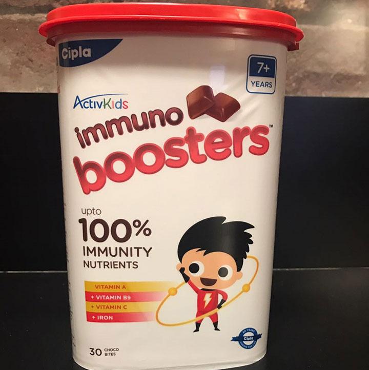 O que é o Cipla ActivKids Immuno Boosters?