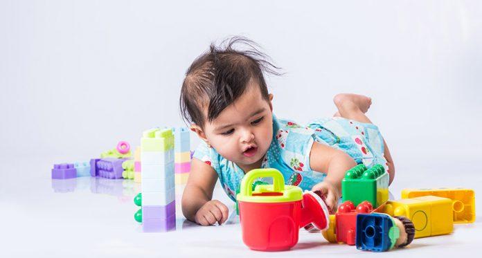 amostra de 11 bebês de 12 meses