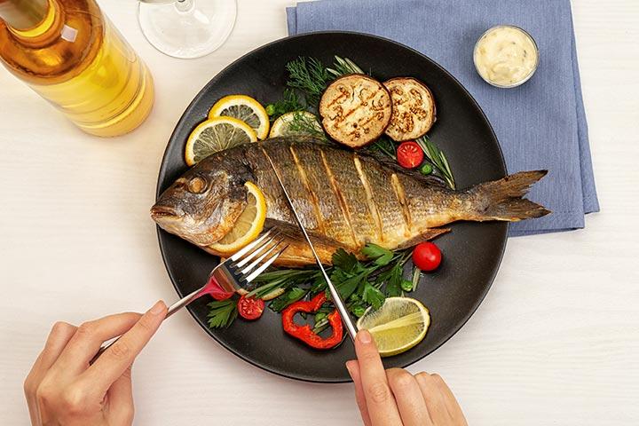 Lista de peixes seguros para comer durante a gravidez e peixes a serem evitados