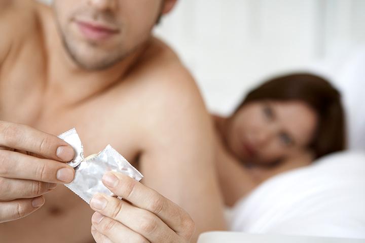 Métodos contraceptivos para homens e mulheres.