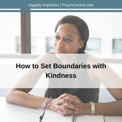 Estabeleça limites com gentileza