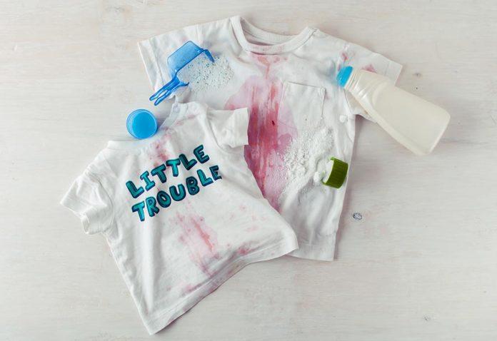 Não há mais manchas teimosas nas roupas do seu bebê - eis como!