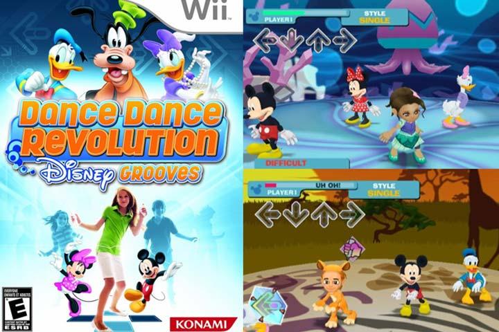 Dança Dança Revolução Disney Grooves