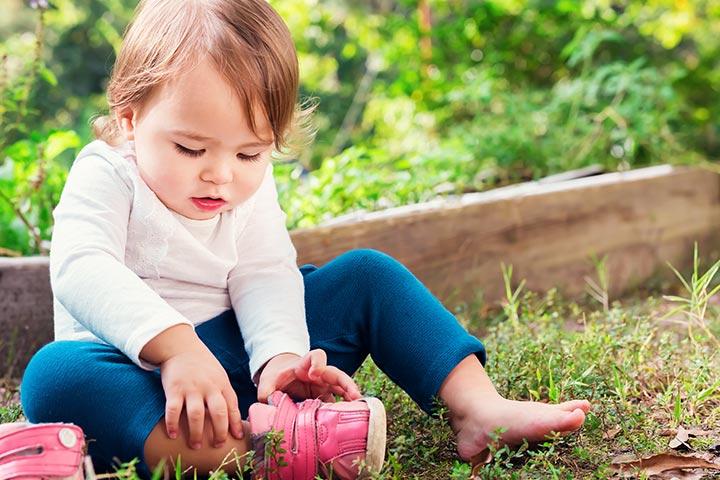 Sapatos para o seu bebê