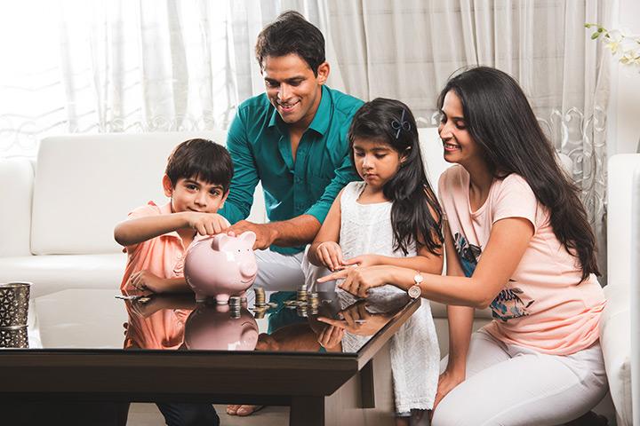 Planejamento financeiro para crianças