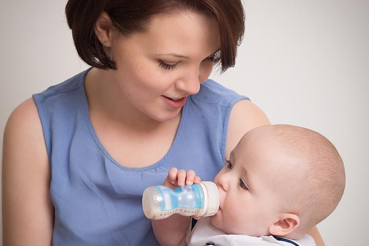 Leite de soja para o meu bebê