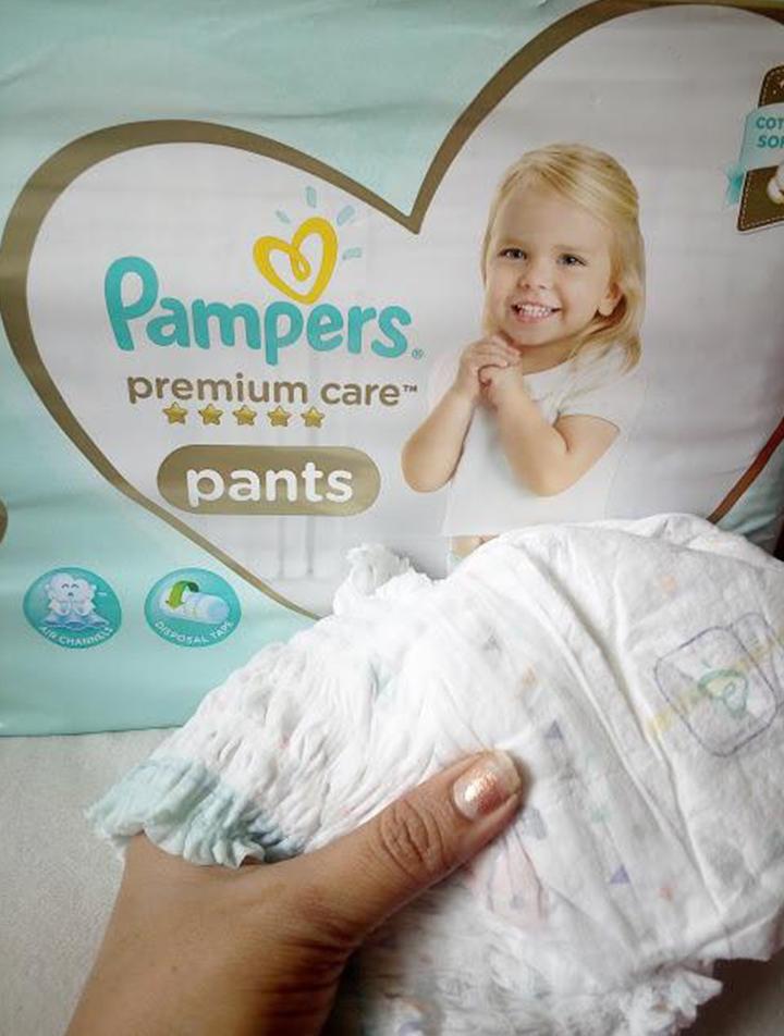 Calças Pampers Premium Care