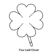 Um trevo de quatro folhas
