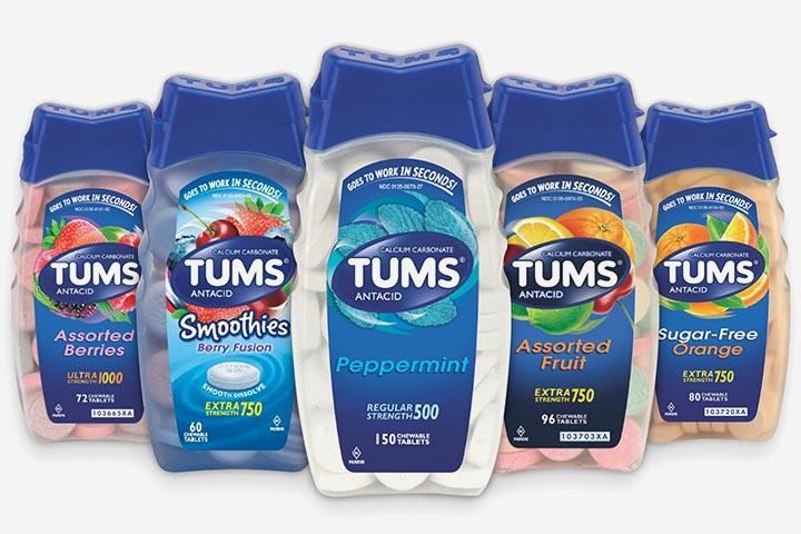 Tums durante a gravidez