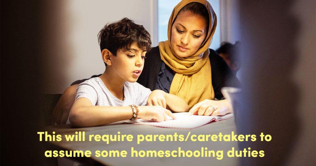 Um guia rápido e criado por professores para educar temporariamente seus filhos em casa