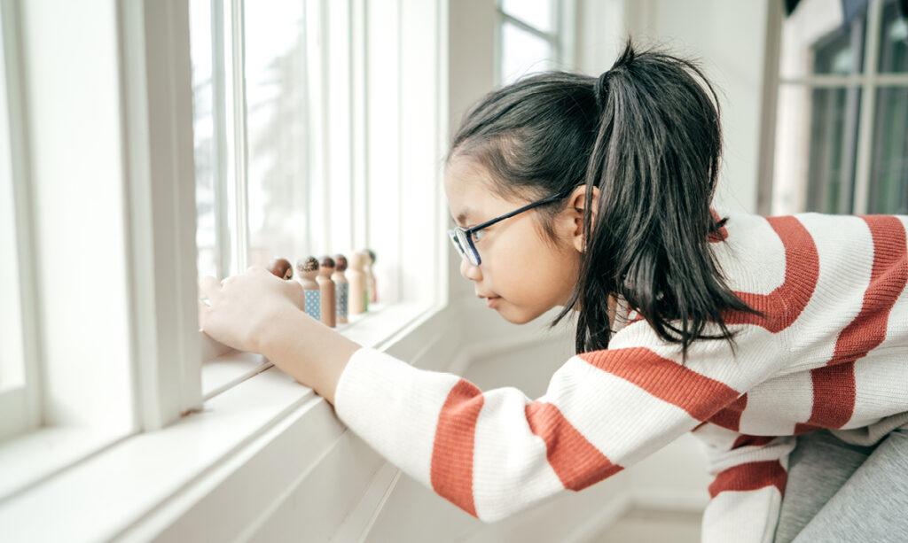 Comportamento do autismo ou sintoma de saúde mental?