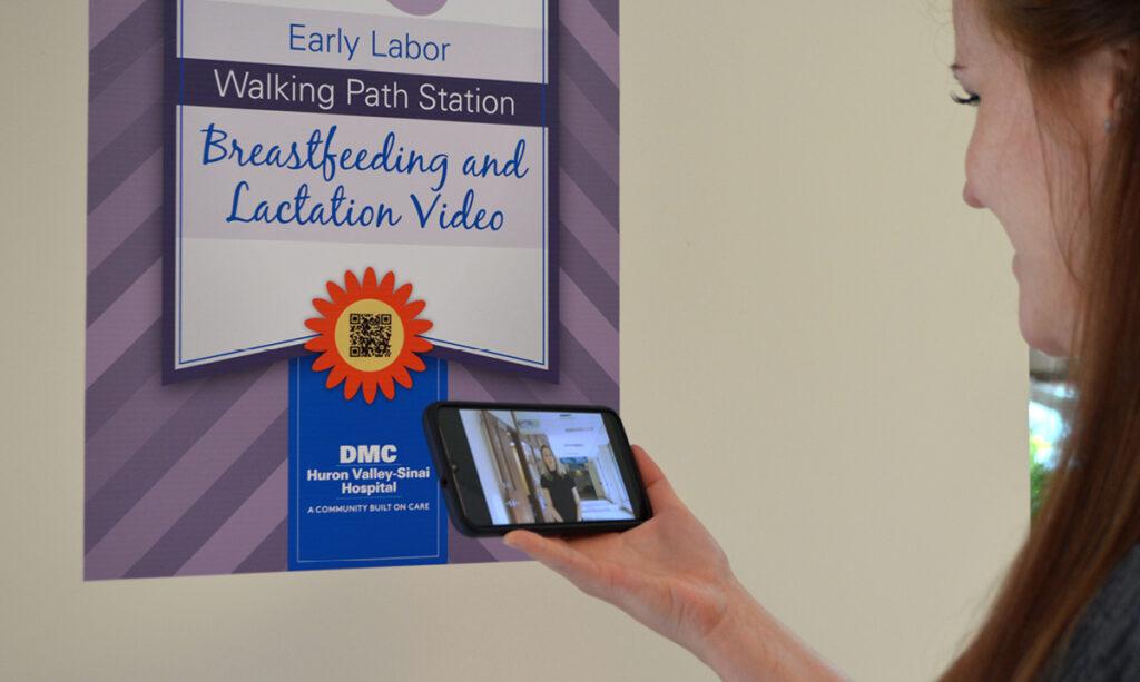 Caminho para o trabalho de parto precoce para mães no Hospital DMC Huron Valley-Sinai