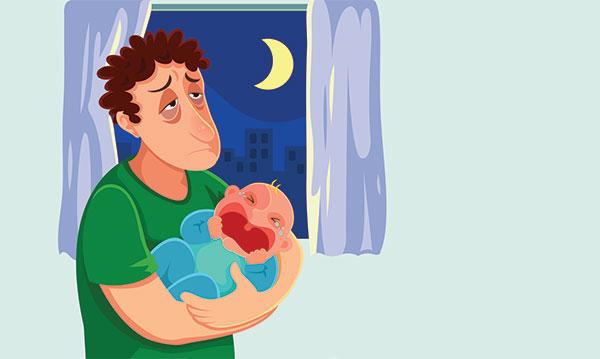 Depressão pós-parto em pais: sinais e o que fazer