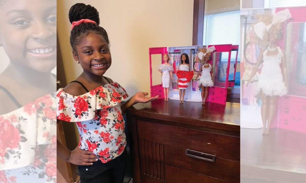 Os projetos de Neveah Woods-Jones, do distrito de Clinton, impressionam a Mattel