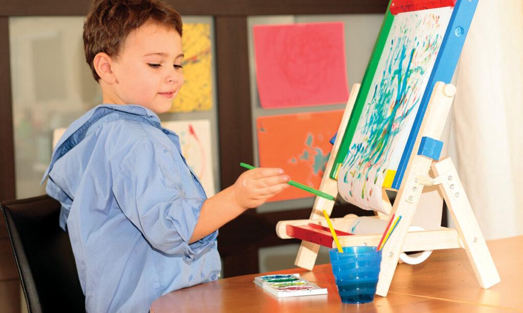 Como a Arteterapia beneficia crianças com autismo e necessidades especiais