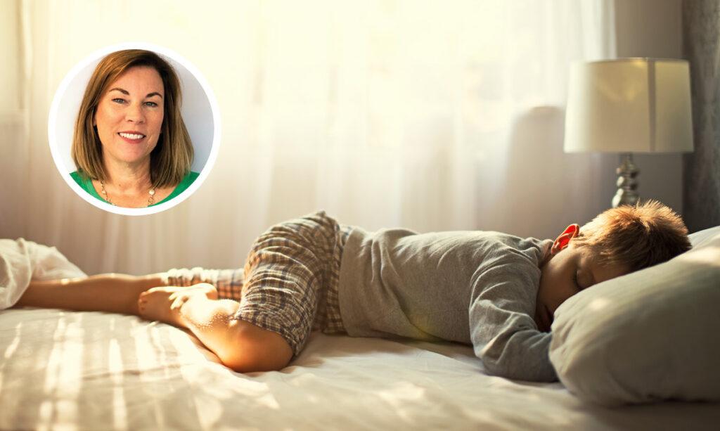 Como posso ajudar meu filho a dormir melhor?