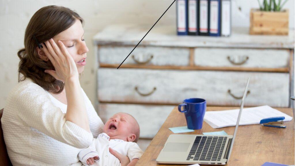 As enxaquecas relacionadas à gravidez são reais e terríveis