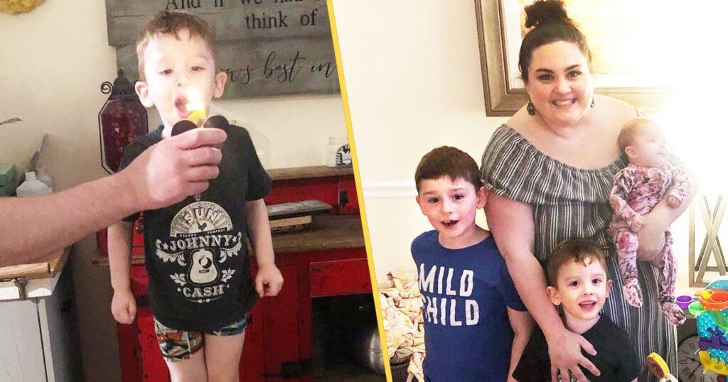 Distanciamento social não estragou o aniversário do meu filho