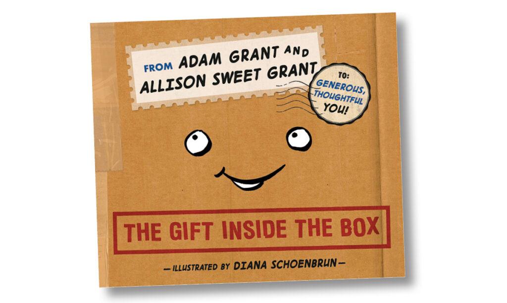 O presente dentro da caixa O livro infantil ensina generosidade