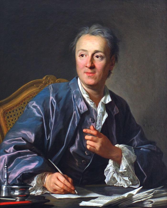Denis Diderot, descobridor do efeito Diderot.
